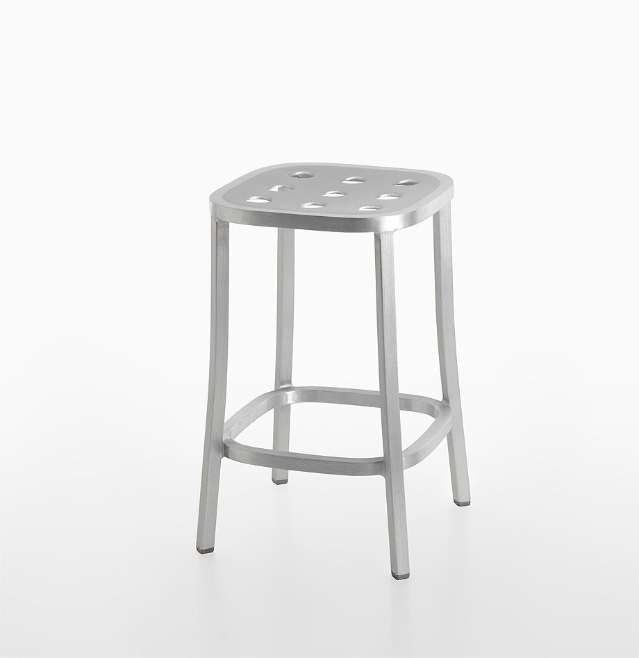 sillas taburetes 1 inch all aluminium de jasper morrison y emeco (7)