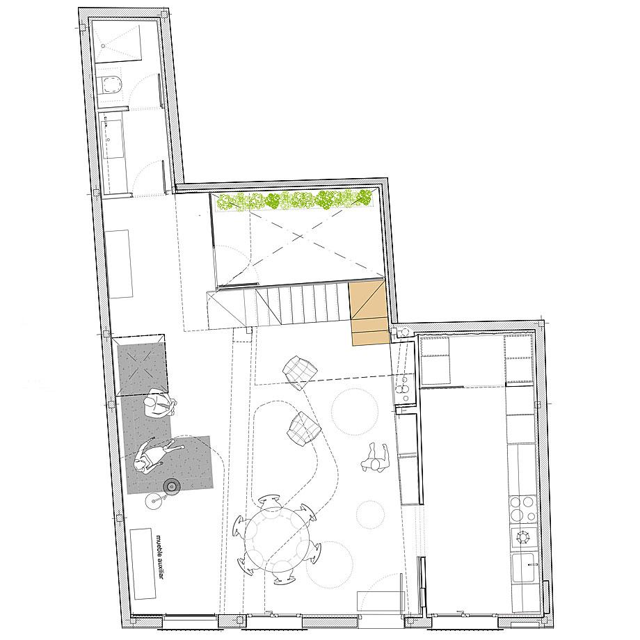 cabañas en el bosque de woha arquitectura - plano (13)