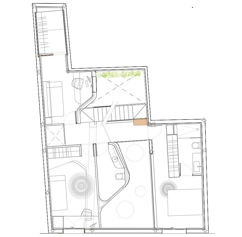 cabañas en el bosque de woha arquitectura - plano (14)
