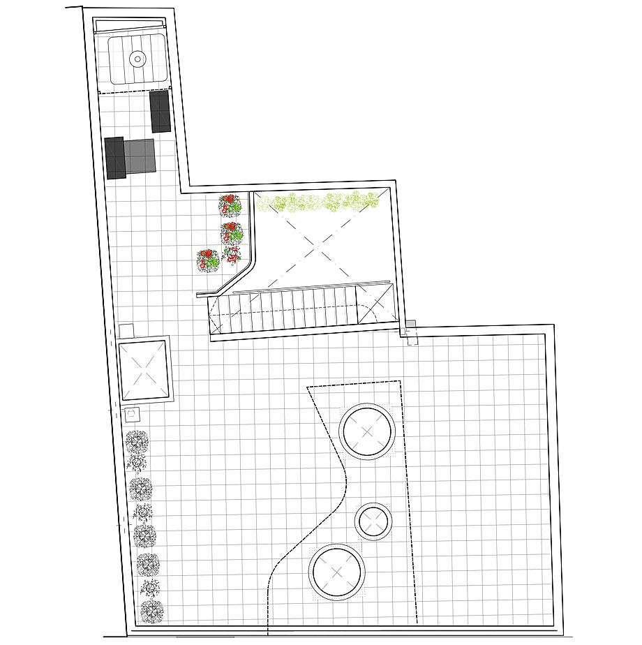 cabañas en el bosque de woha arquitectura - plano (15)