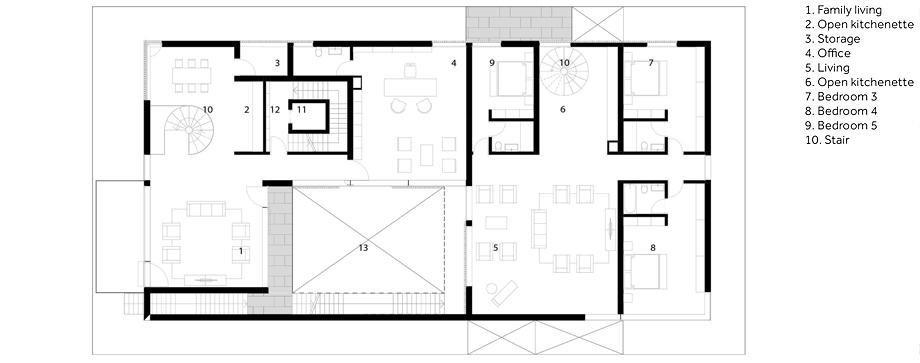 casa en mishref de studio toggle - plano (26)