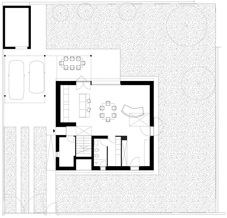 casa en pordenone de corde architetti associati - plano (23)