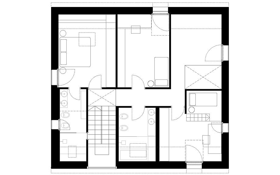 casa en pordenone de corde architetti associati - plano (27)