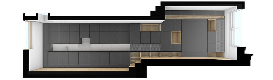 edificio convertido en apartamentos de mata architects - renders (16)