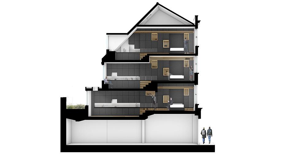 edificio convertido en apartamentos de mata architects - renders (17)