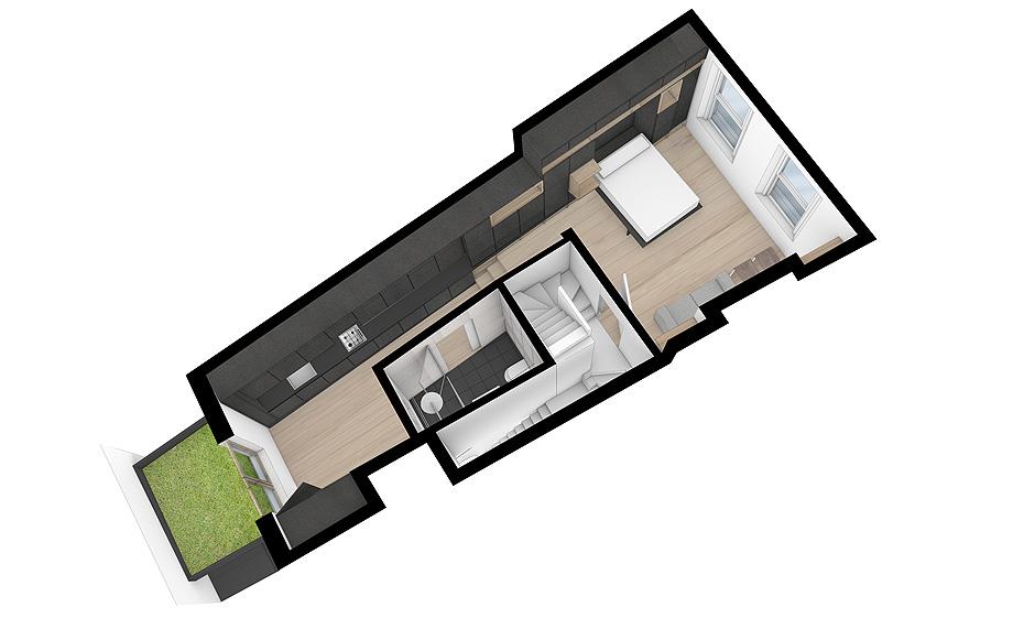 edificio convertido en apartamentos de mata architects - renders (20)