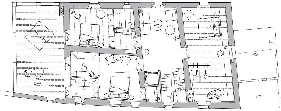 casa de turismo rural de estudi d'arquitectura interior maite prats - plano (24)