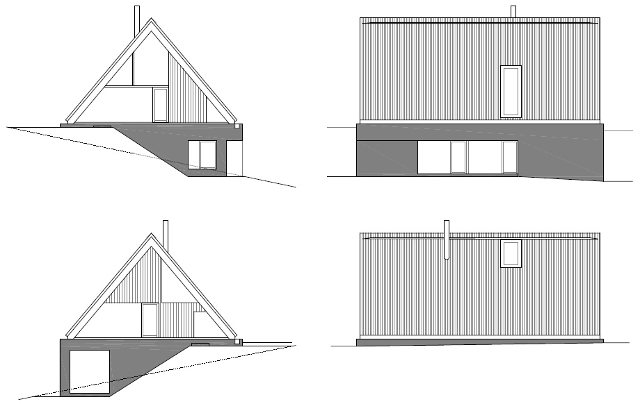 casa en las montañas beskydy de pavel micek - plano (19)