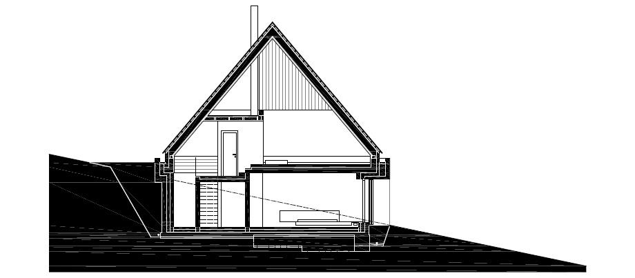 casa en las montañas beskydy de pavel micek - plano (20)