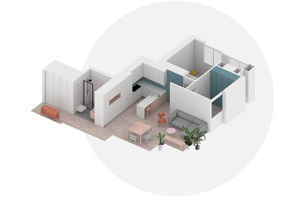 reforma de un piso en madrid por sara palomar (aoa) - plano (20)