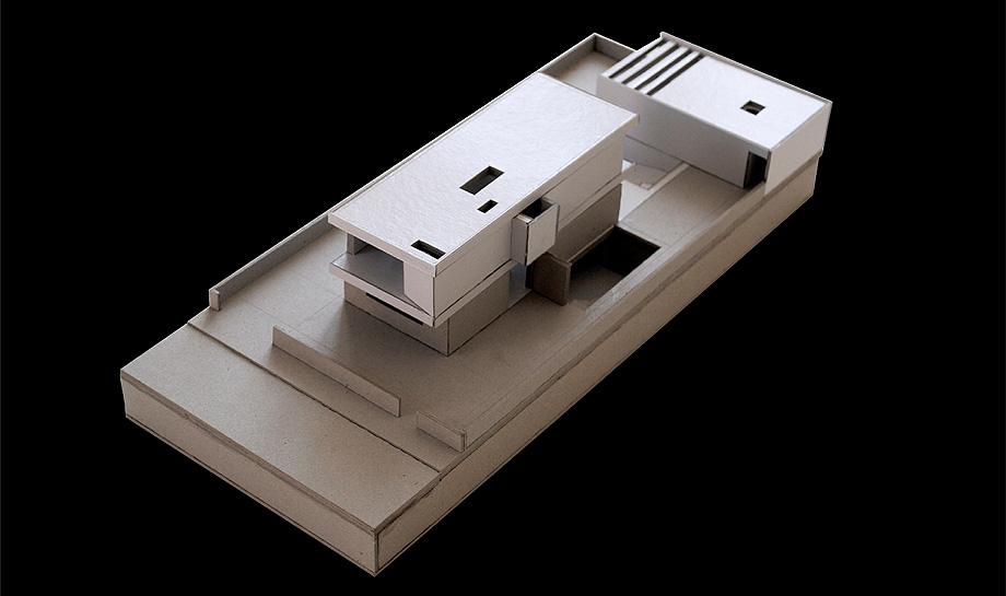 casa en areia portugal de raulino silva - maqueta (23)