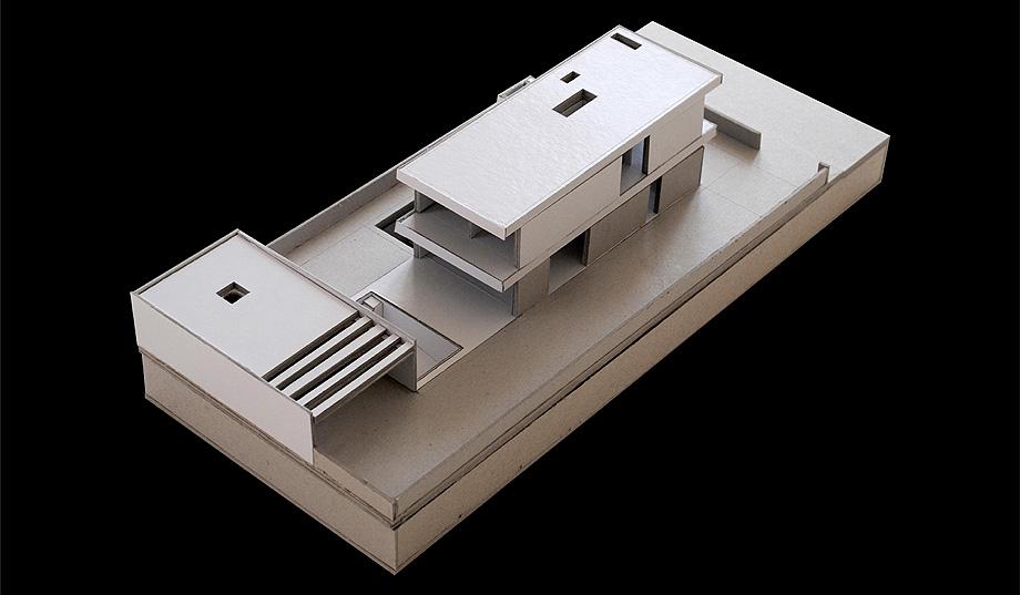 casa en areia portugal de raulino silva - maqueta (24)