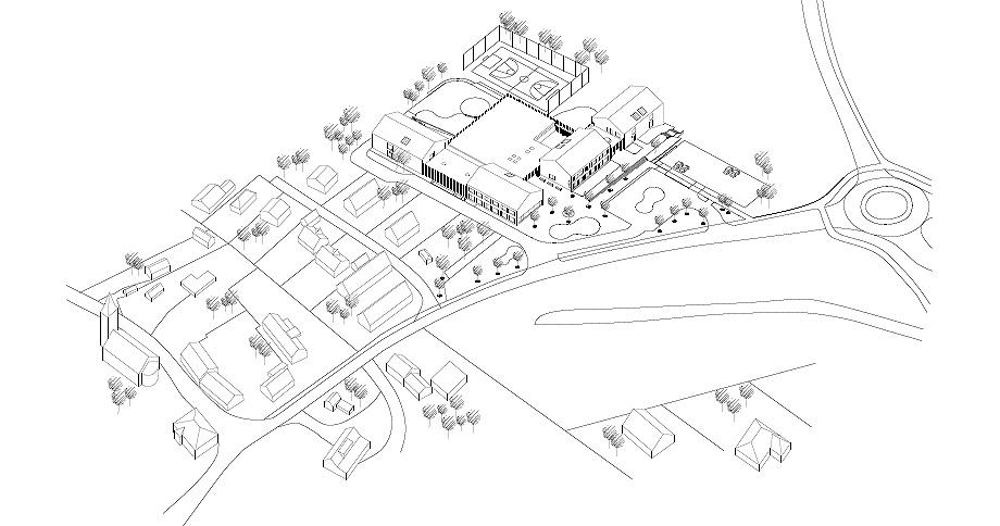 escuela de primaria de soa architekti - plano (25)