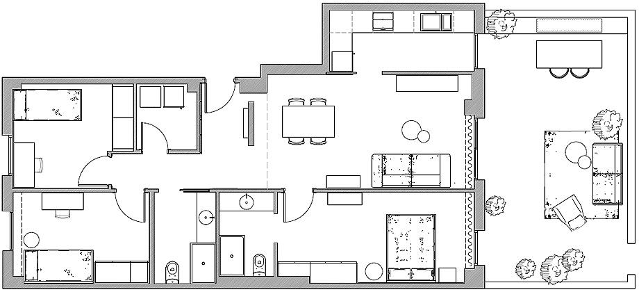 piso muestra en granollers de alex giro y mery garriga - plano (13)