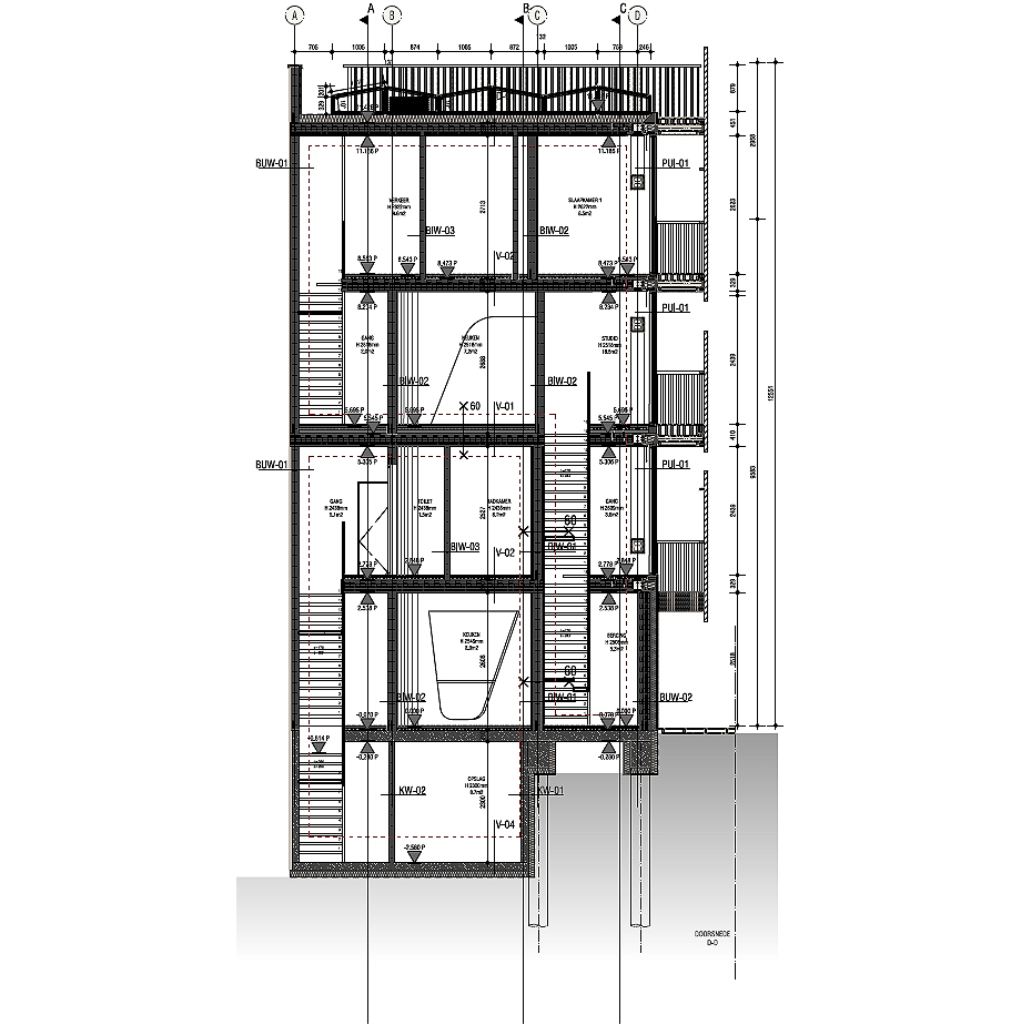 freebooter casa biofilica de gg-loop (34) - plano