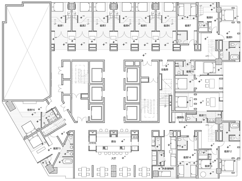 hotel stone 9 de xue jin design - plano (20)