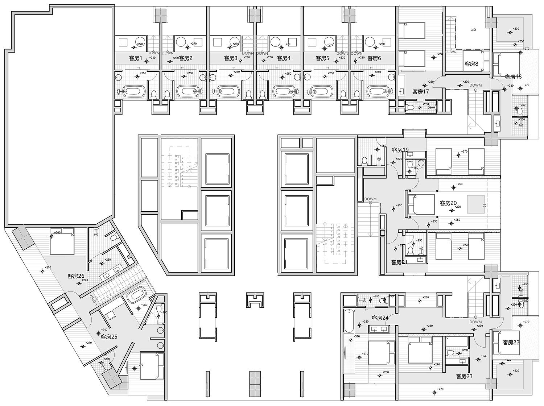 hotel stone 9 de xue jin design - plano (21)