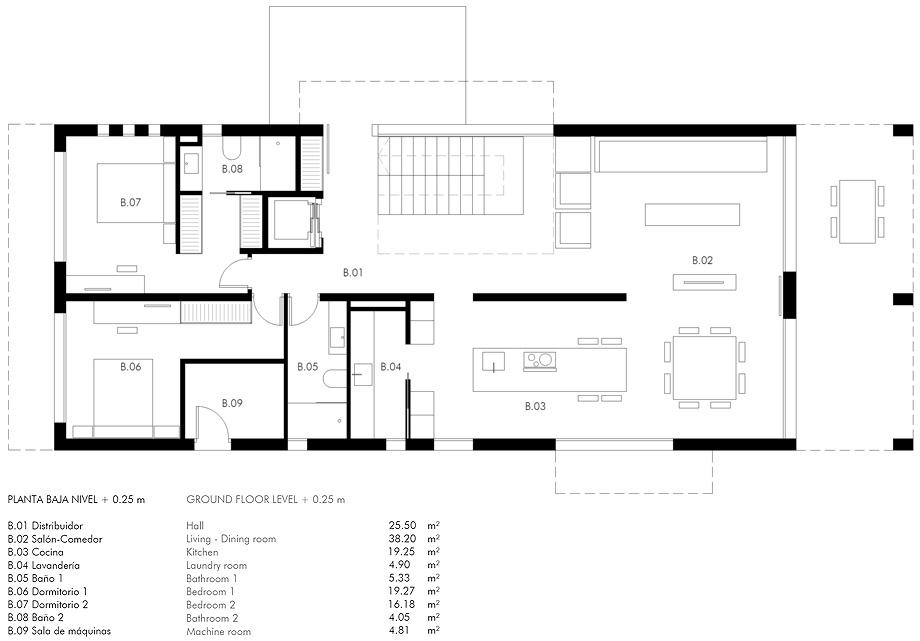 casa marmi de carles faus - plano (28)