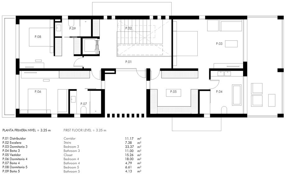 casa marmi de carles faus - plano (29)