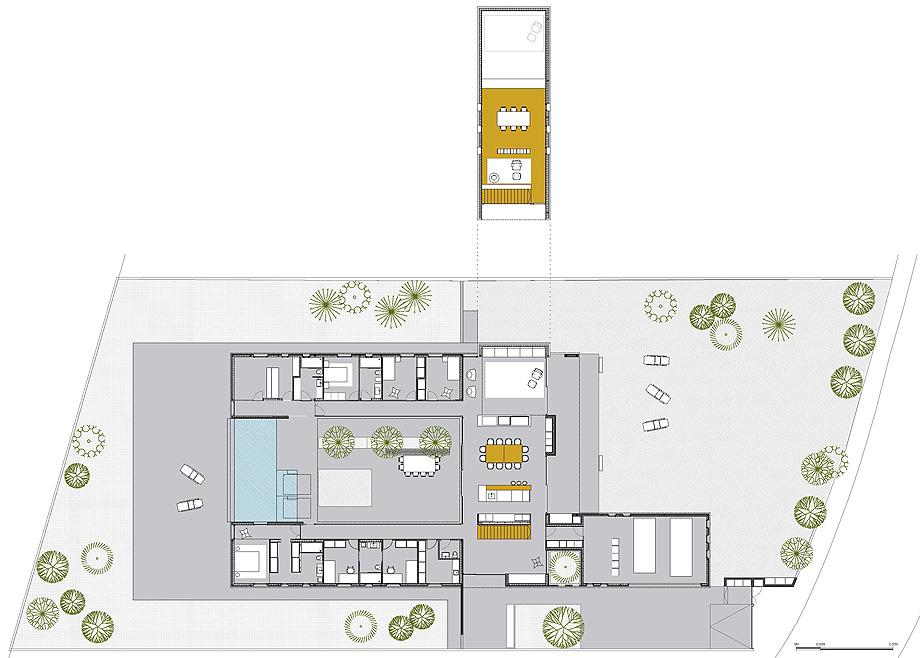 casa mj en lleida de alventosa morell arquitectes (20) - plano