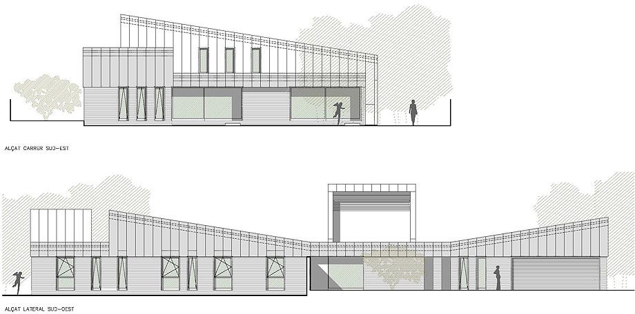 casa mj en lleida de alventosa morell arquitectes (22) - plano