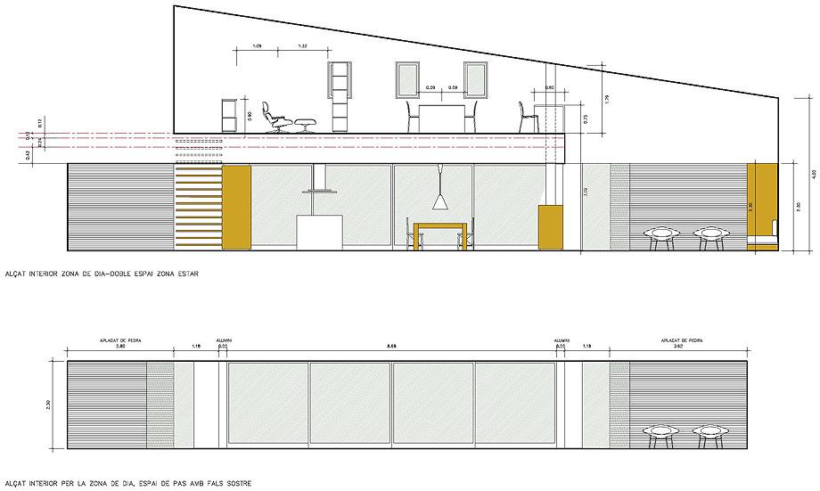 casa mj en lleida de alventosa morell arquitectes (23) - plano