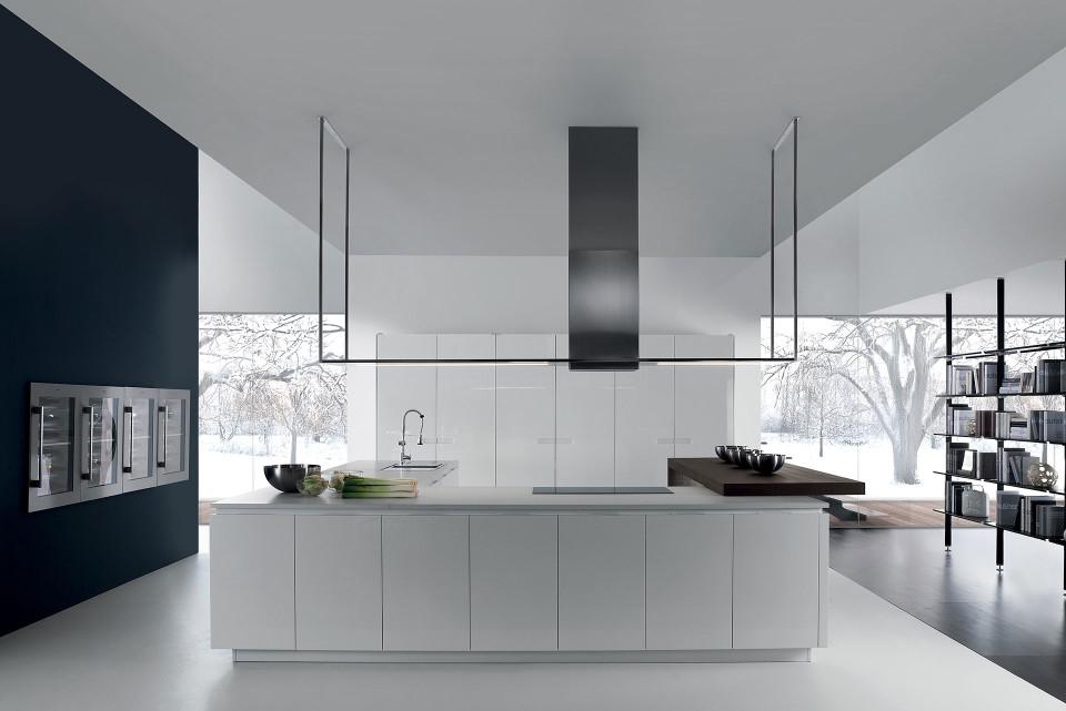 Blanco Mili 523 103 color gris Grifo de cocina