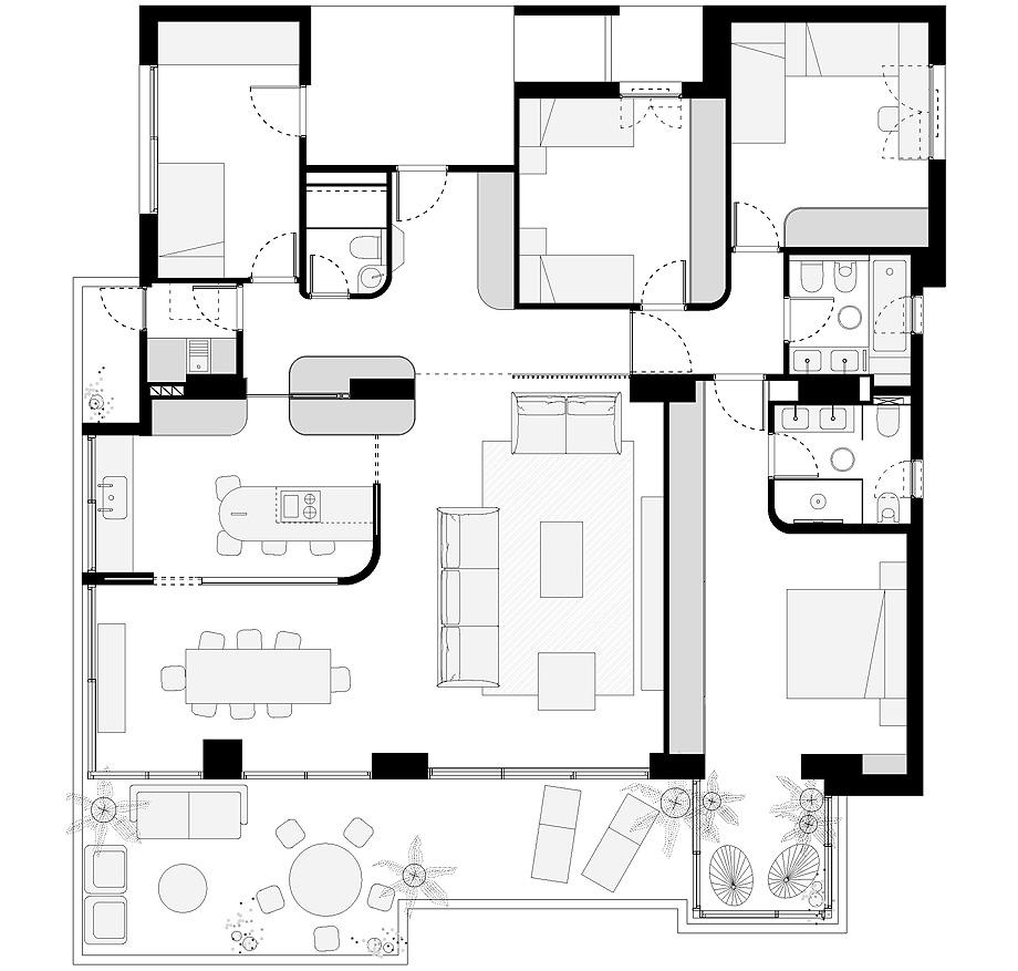 reforma en benidorm de fic arquitectos - plano (22)