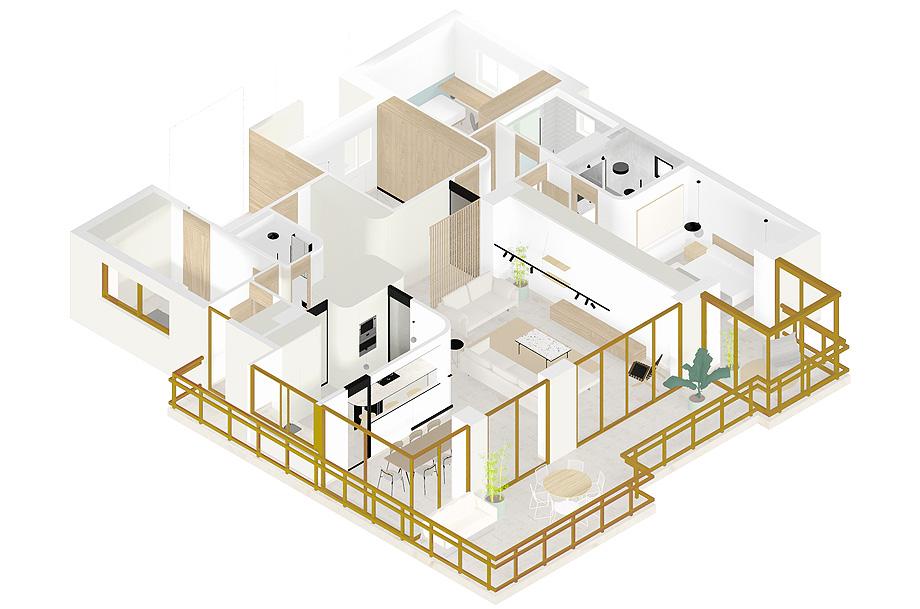 reforma en benidorm de fic arquitectos - plano (23)