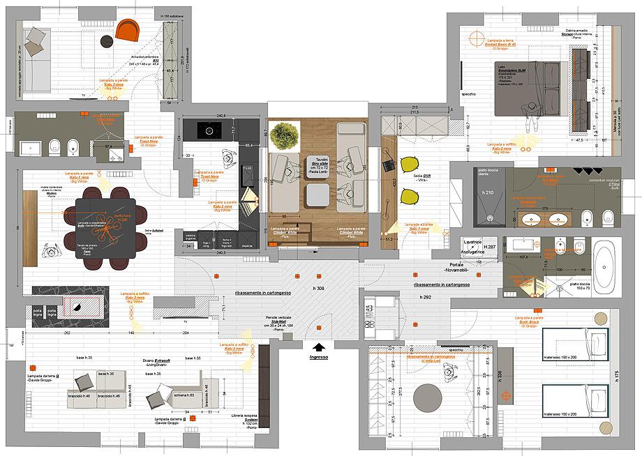 casa mcm de ghiroldidesign (15) - plano