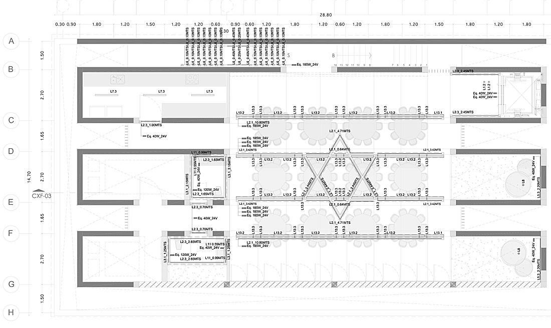 tevila en polanco de cherem arquitectos (12) - plano