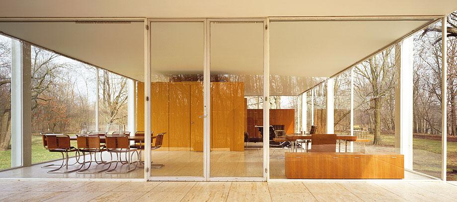 casa farnsworth (1951) de mies van der rohe - foto jon miller hedrich blessing - arcaid 2013