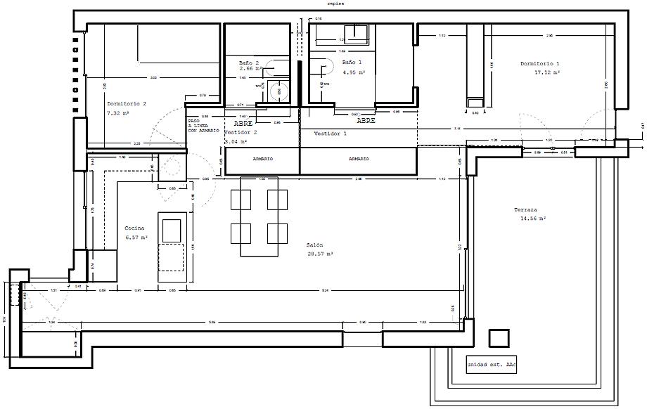 casa lm en altea de estudio ji arquitectos (17) - plano