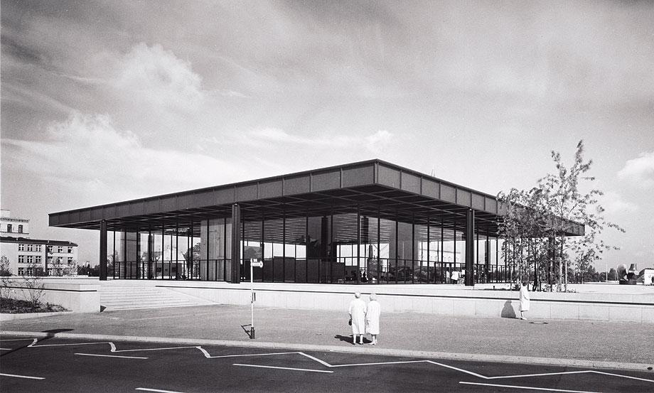 new national gallery (1968) de mies van der rohe - foto chicago history museum