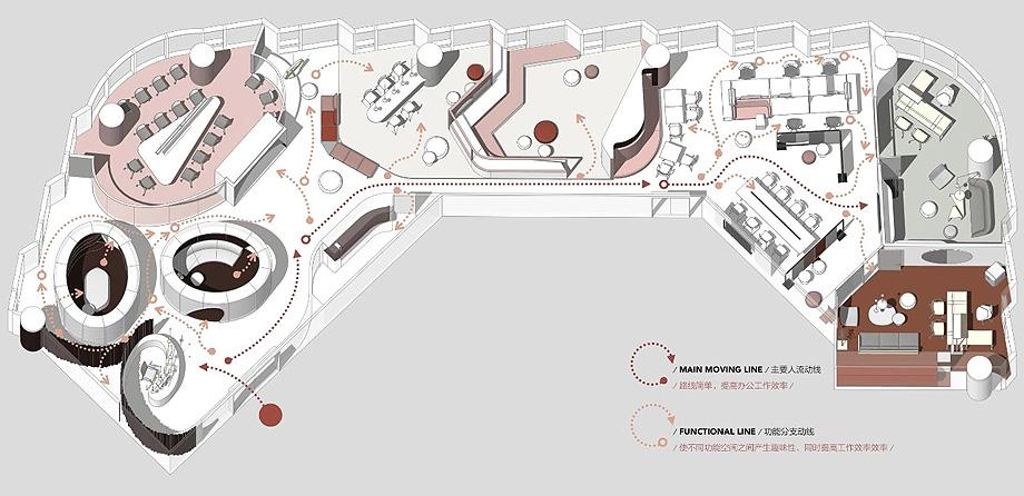 oficinas de new silk road de dang ming (20) - plano
