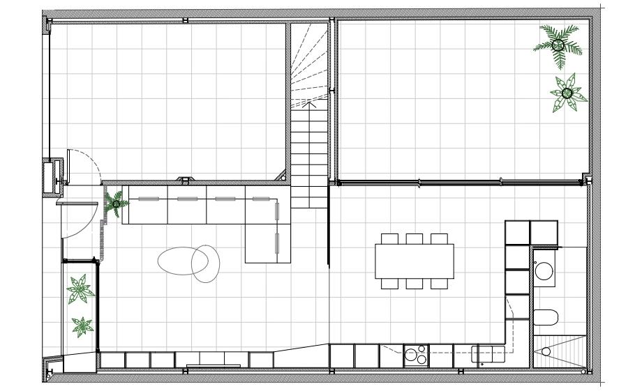 vivienda en elda de pablo muñoz paya arquitectos (24) - plano