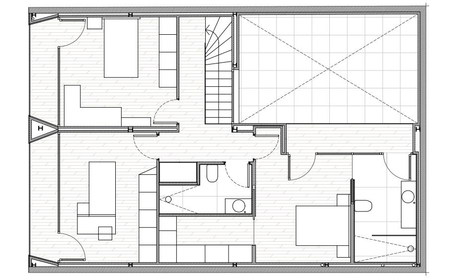 vivienda en elda de pablo muñoz paya arquitectos (25) - plano