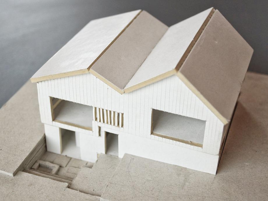 casa en la montaña de archholiks (28) - maqueta