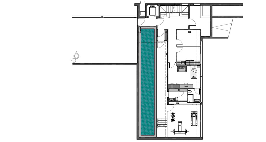 casa junto al mar de coblonal interiorismo (22) - plano