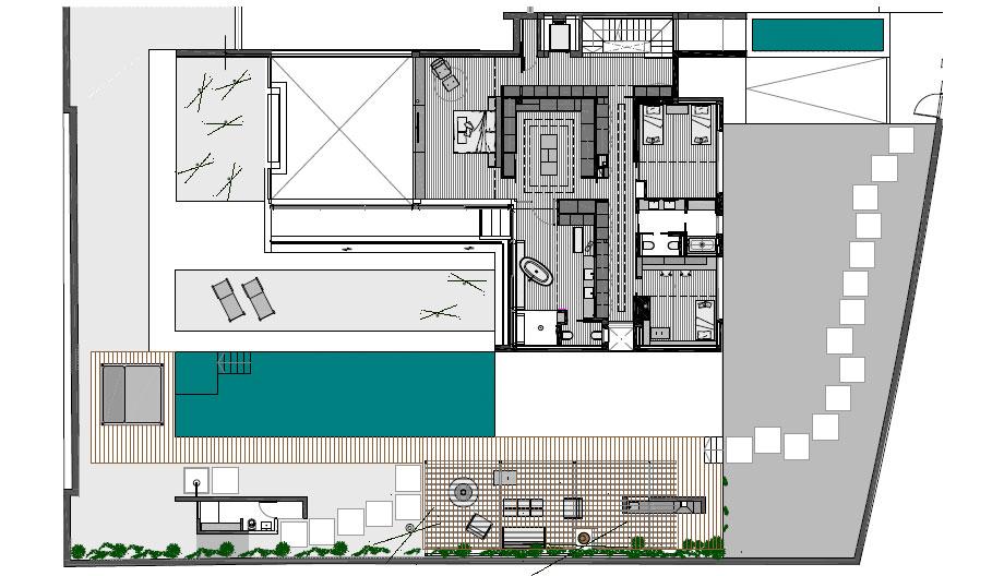 casa junto al mar de coblonal interiorismo (24) - plano