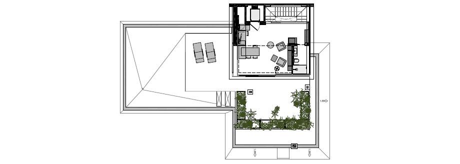 casa junto al mar de coblonal interiorismo (25) - plano
