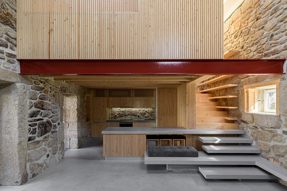 casa rural en portugal de hbg architects (1) - foto ricardo oliveira alves