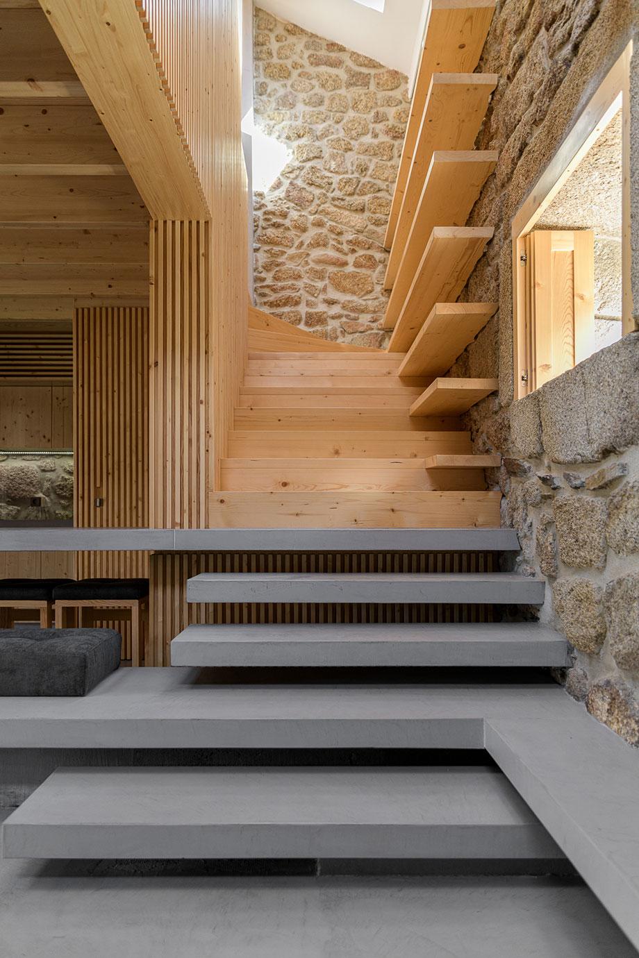 casa rural en portugal de hbg architects (8) - foto ricardo oliveira alves