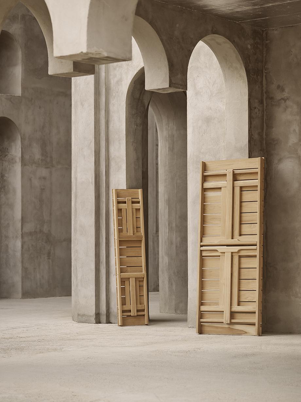 mesa y banco para exteriores de borge mogensen producidos por carl hansen & son (3)