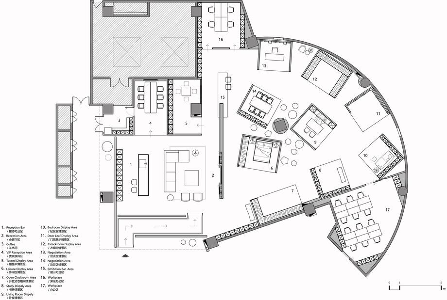 showroom de arquitectura jst (31) - plano