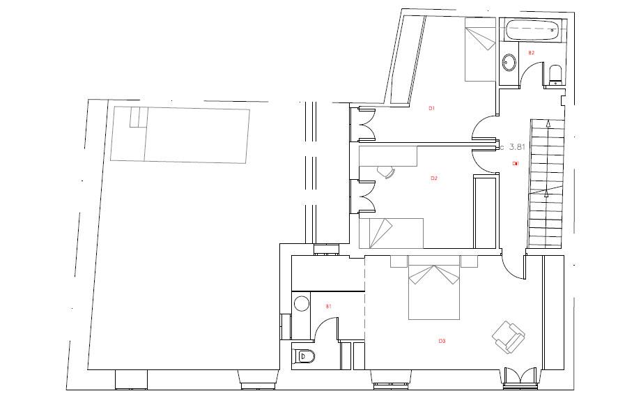 casa lledoner xxxii de minimal studio (22) - plano