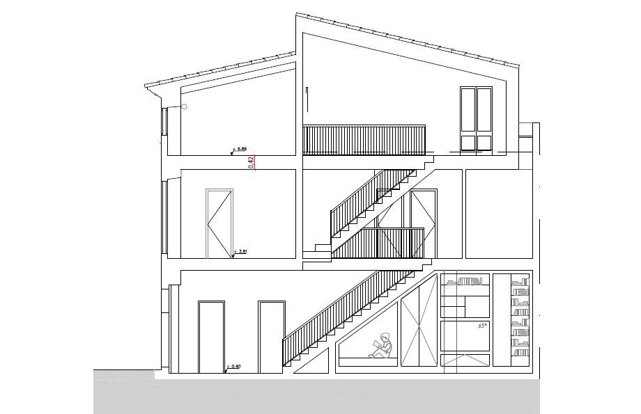 casa lledoner xxxii de minimal studio (26) - plano