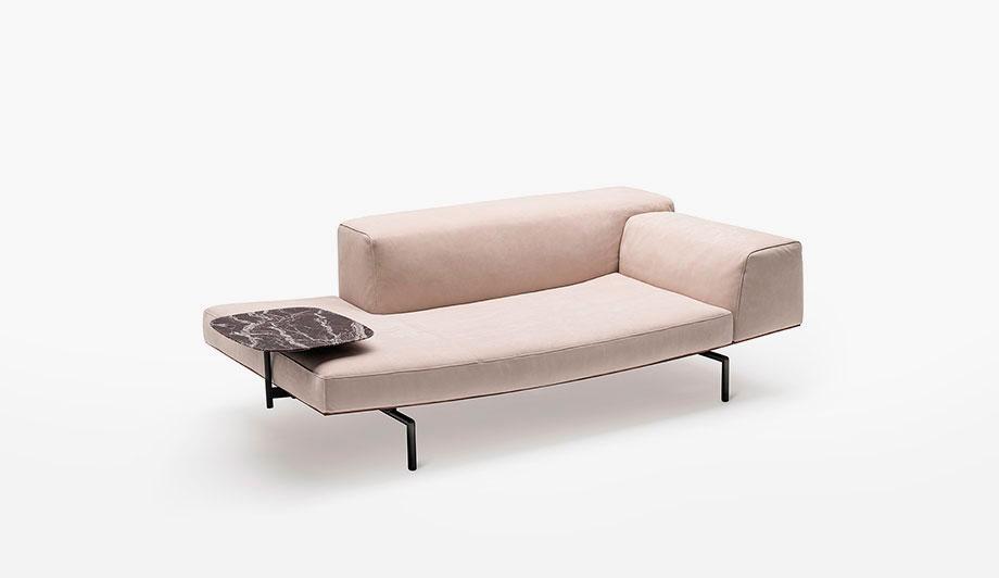 sofa sumo de piero lissoni para living divani (5) - foto cesare chimenti