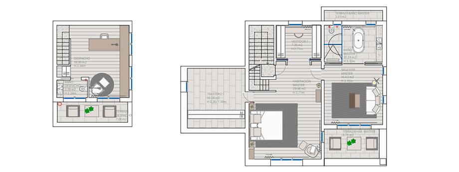 casa mn angel martin interiors (29) - planos