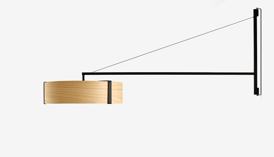 lampara thesis pared de ramon esteve para lzf lamps